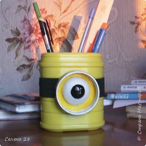 Вот такой  Миньон - карандашница. фото 1