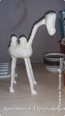 Ну вот опять меня попросили сделать в школу поделку - объемного верблюда. Вот результат. фото 3