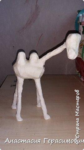 Ну вот опять меня попросили сделать в школу поделку - объемного верблюда. Вот результат. фото 4