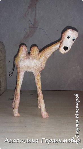 Ну вот опять меня попросили сделать в школу поделку - объемного верблюда. Вот результат. фото 6