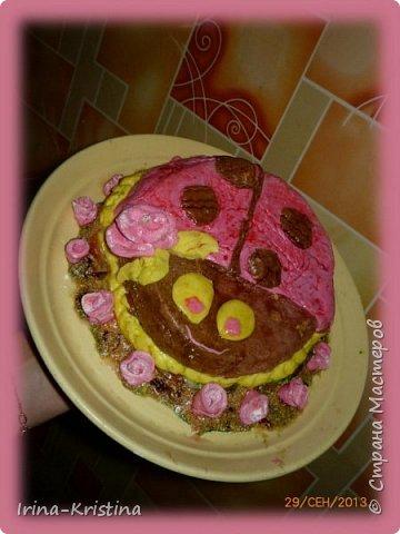 """Торт на д.р. Тема """" Тачки"""" фото 2"""