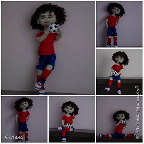 Первая куколка, сшита по заказу старшенького сыночка для его подружки:) фото 3