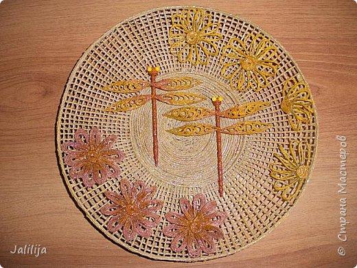 Уважаемые жители и гости Страны мастеров! Сегодня хочу вам показать, как я делаю тарелку - панно на стену.  фото 44