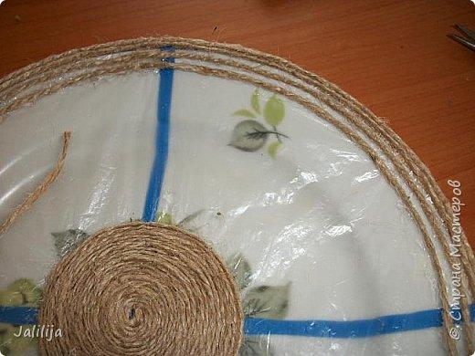 Уважаемые жители и гости Страны мастеров! Сегодня хочу вам показать, как я делаю тарелку - панно на стену.  фото 11