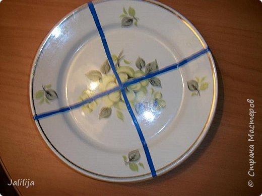 Уважаемые жители и гости Страны мастеров! Сегодня хочу вам показать, как я делаю тарелку - панно на стену.  фото 4