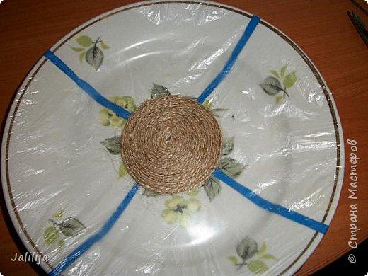 Уважаемые жители и гости Страны мастеров! Сегодня хочу вам показать, как я делаю тарелку - панно на стену.  фото 7