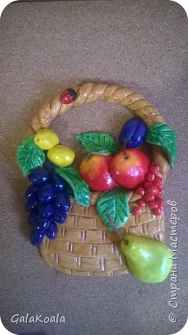 Корзинка с фруктами фото 2