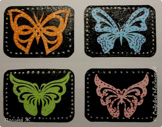 Вот такие бабочки-красавицы получились у меня фото 1