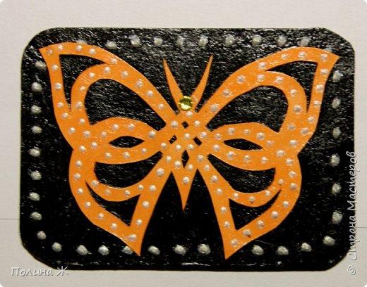 Вот такие бабочки-красавицы получились у меня фото 2