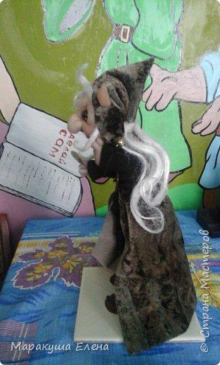 Вот такого эльфа можно подарить на день рождения)) поставите его рядом с  тайничком,и он принесёт удачу)) Доходы будут приумножаться)) Его рост 25 см.. фото 2