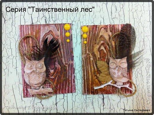 """Серия """"Таинственный лес"""" все карточки свободны, давайте меняться!!!"""