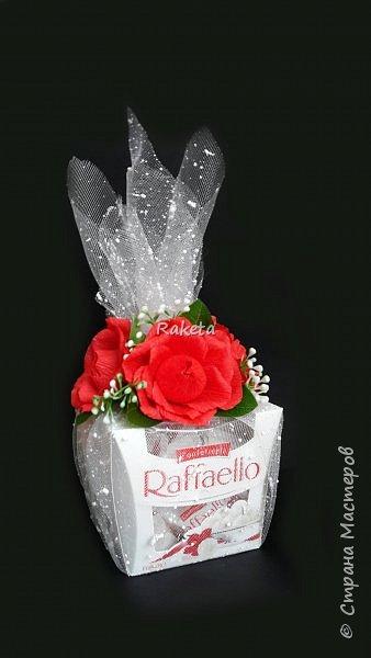 Всем привет! Хочу поделиться с Вами сладеньким!  сделала букет в таком приятном свежем весеннем цвете фото 7