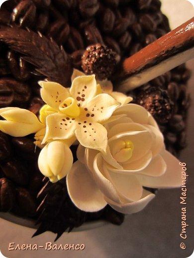Вот такой ванильно-шоколадный топиарий слепился долгими зимними вечерами. фото 5