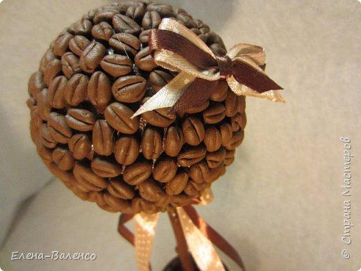 Вот такой топиарий был сделан в подарок сыну. Он у меня кофеман и главный критик моих работ. фото 4