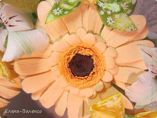 Интерьерный веночек (холодный фарфор) фото 7