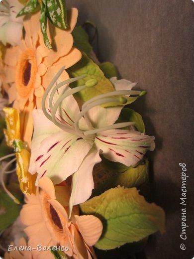 Интерьерный веночек (холодный фарфор) фото 8