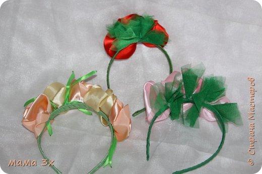 ободок с розами фото 12