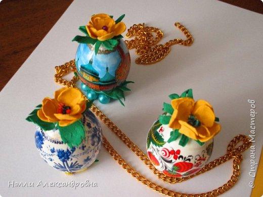 Предлагаю внести разнообразие в украшение пасхальных яиц.  фото 5