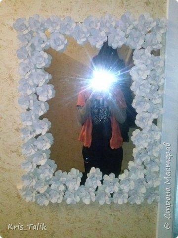 Украшаем зеркало МК фото 18