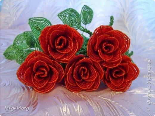 Добрый вечер! У меня заказали букет бокаловидных роз, которые я ещё никогда в жизни не плела =)) Было ужасно сложно найти МК по ним, потому что бокаловидные розы мало плетут, в основном раскрывшиеся, пышные. Но клиентка упёрлась и ей захотелось именно такие. Что ж, ладно. Нашла два МК и она выбрала именно вот этот http://stranamasterov.ru/node/477210 Девушки по имени Виктория Ко-вю. Спасибо ей большое за него, спасибо! И просто, и понятно и красиво! Только листочки я выбрала из другого МК. И в результате у меня получилась вот такая красота! Прошу любить и жаловать мой первый букет бокаловидных роз! Так же есть ещё две такие розочки: одна самая первая останется у меня, а вторая отправиться к отцу на работу. Розочки уже забрали. Клиентка была очень довольна! Чему я бесконечно рада! Теперь и я умею плести такие розочки! Цветы прекрасны в любом виде! Шедевр природы не повторить! Спасибо! фото 13