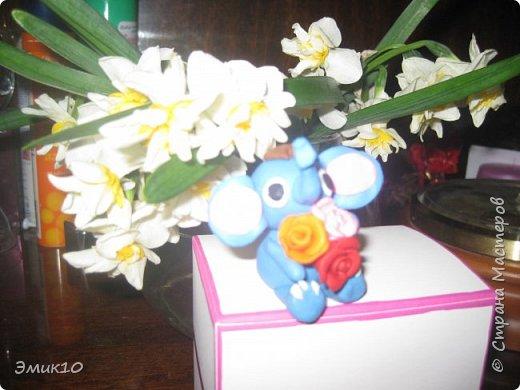 Вот нашла старые фотки,что мастерила на 8 марта маме))) фото 1