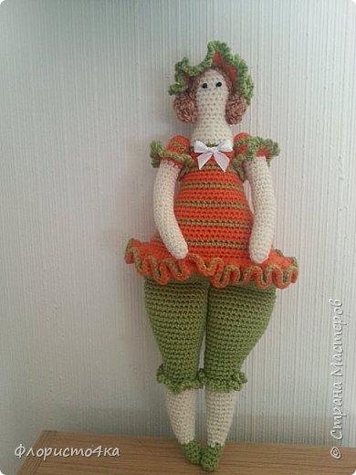 """Бродя по просторам интернета, нашла много мастер- классов по вязаным куклам. Вот, """"навязалось"""", просто так, для настроения.   фото 4"""