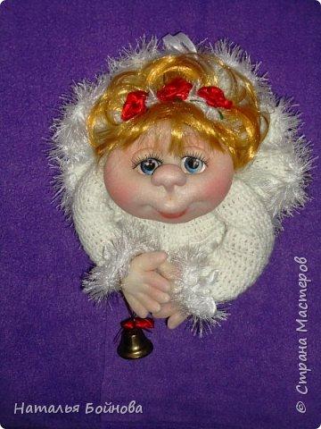 Вот такой Ангелочек в белоснежном платье появился у меня в последний день зимы)))  фото 2