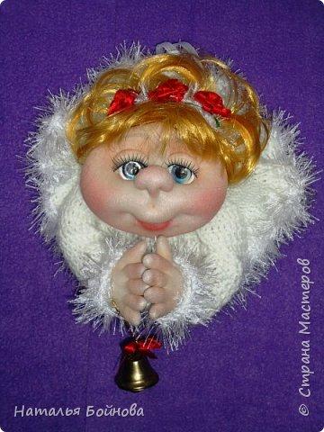 Вот такой Ангелочек в белоснежном платье появился у меня в последний день зимы)))  фото 4