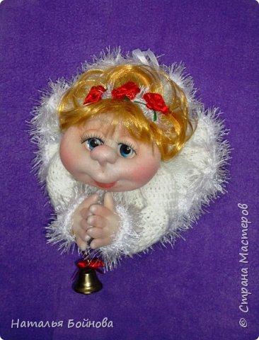 Вот такой Ангелочек в белоснежном платье появился у меня в последний день зимы)))  фото 1