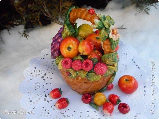 Это мои  фруктовые корзинки к 8 марта. Грибные будут позже. фото 4