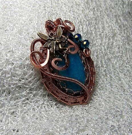 Мои первые украшения в технике Wire Wrap фото 3