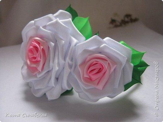 Очень люблю делать розы, хоть и сделала их уже не мало, но всё равно нравится.... фото 2