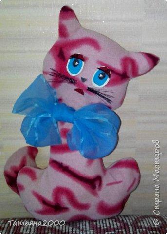 Розовая кошечка фото 1