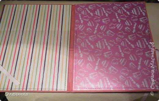 добрый день жители страны ! представляю вам папку для первых детских документов .сделала ее в подарок девочкам двойняшкам . фото 3