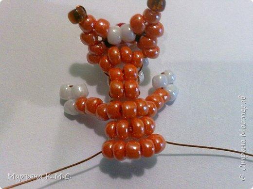 Белочка в технике объемного паралельного плетения. Это мое творение. Белочка была придумана мною несколько лет назад. Решила сделать очень подробный мастер-класс. Надеюсь, что вам понравится) фото 28