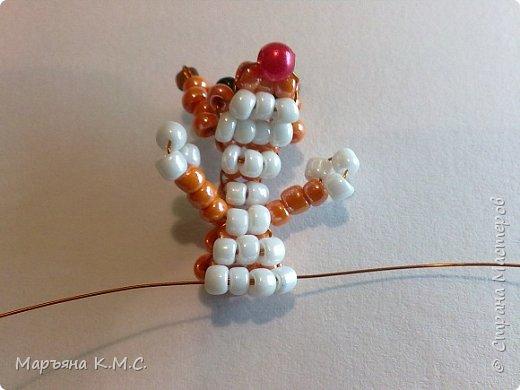 Белочка в технике объемного паралельного плетения. Это мое творение. Белочка была придумана мною несколько лет назад. Решила сделать очень подробный мастер-класс. Надеюсь, что вам понравится) фото 29
