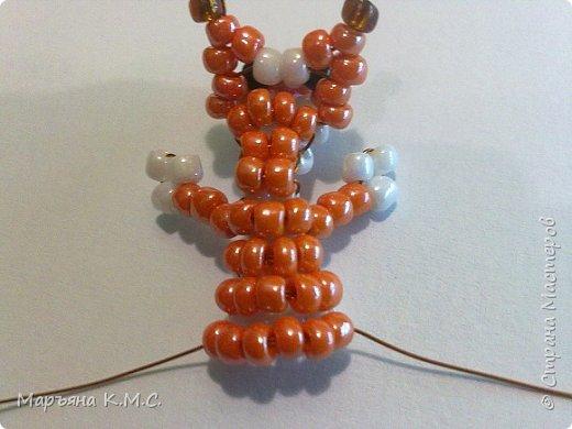 Белочка в технике объемного паралельного плетения. Это мое творение. Белочка была придумана мною несколько лет назад. Решила сделать очень подробный мастер-класс. Надеюсь, что вам понравится) фото 30