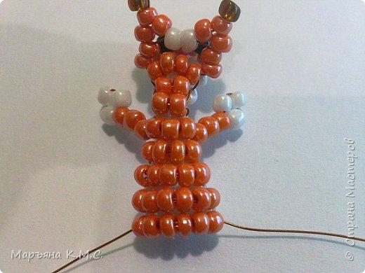 Белочка в технике объемного паралельного плетения. Это мое творение. Белочка была придумана мною несколько лет назад. Решила сделать очень подробный мастер-класс. Надеюсь, что вам понравится) фото 32