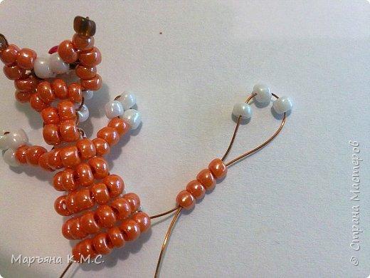 Белочка в технике объемного паралельного плетения. Это мое творение. Белочка была придумана мною несколько лет назад. Решила сделать очень подробный мастер-класс. Надеюсь, что вам понравится) фото 33
