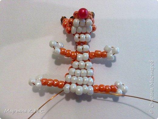 Белочка в технике объемного паралельного плетения. Это мое творение. Белочка была придумана мною несколько лет назад. Решила сделать очень подробный мастер-класс. Надеюсь, что вам понравится) фото 35