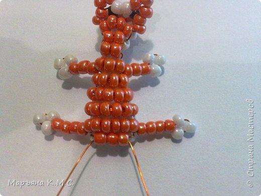 Белочка в технике объемного паралельного плетения. Это мое творение. Белочка была придумана мною несколько лет назад. Решила сделать очень подробный мастер-класс. Надеюсь, что вам понравится) фото 36