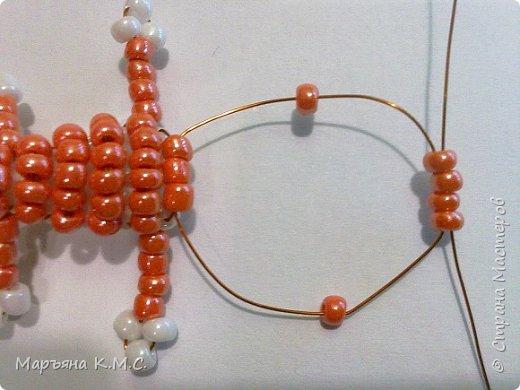Белочка в технике объемного паралельного плетения. Это мое творение. Белочка была придумана мною несколько лет назад. Решила сделать очень подробный мастер-класс. Надеюсь, что вам понравится) фото 38