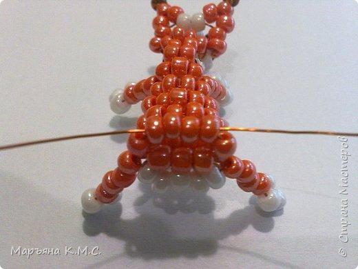 Белочка в технике объемного паралельного плетения. Это мое творение. Белочка была придумана мною несколько лет назад. Решила сделать очень подробный мастер-класс. Надеюсь, что вам понравится) фото 39