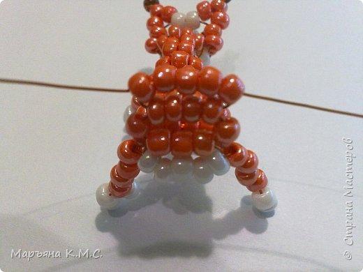 Белочка в технике объемного паралельного плетения. Это мое творение. Белочка была придумана мною несколько лет назад. Решила сделать очень подробный мастер-класс. Надеюсь, что вам понравится) фото 40