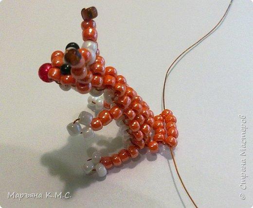 Белочка в технике объемного паралельного плетения. Это мое творение. Белочка была придумана мною несколько лет назад. Решила сделать очень подробный мастер-класс. Надеюсь, что вам понравится) фото 41