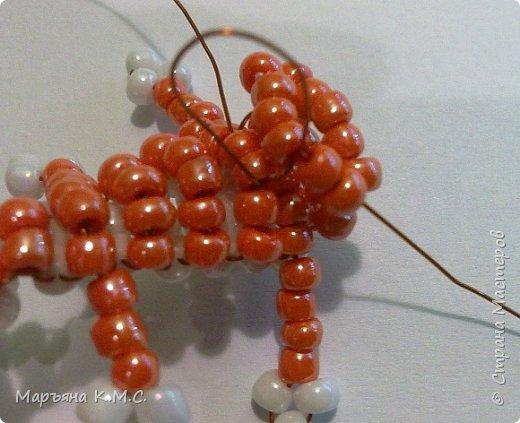 Белочка в технике объемного паралельного плетения. Это мое творение. Белочка была придумана мною несколько лет назад. Решила сделать очень подробный мастер-класс. Надеюсь, что вам понравится) фото 45