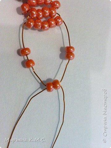 Белочка в технике объемного паралельного плетения. Это мое творение. Белочка была придумана мною несколько лет назад. Решила сделать очень подробный мастер-класс. Надеюсь, что вам понравится) фото 43