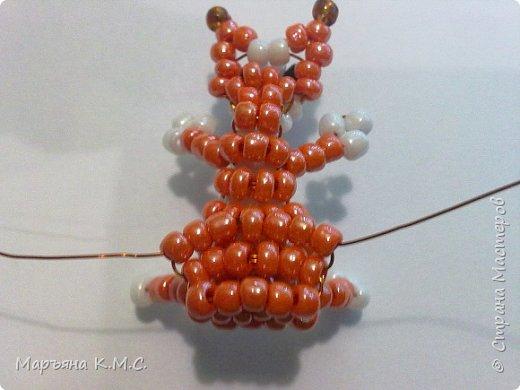 Белочка в технике объемного паралельного плетения. Это мое творение. Белочка была придумана мною несколько лет назад. Решила сделать очень подробный мастер-класс. Надеюсь, что вам понравится) фото 50