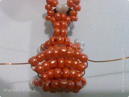 Белочка в технике объемного паралельного плетения. Это мое творение. Белочка была придумана мною несколько лет назад. Решила сделать очень подробный мастер-класс. Надеюсь, что вам понравится) фото 52