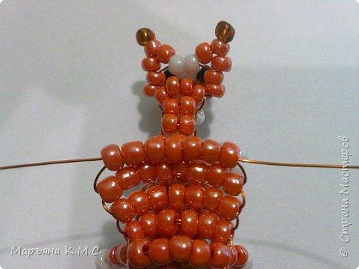 Белочка в технике объемного паралельного плетения. Это мое творение. Белочка была придумана мною несколько лет назад. Решила сделать очень подробный мастер-класс. Надеюсь, что вам понравится) фото 53